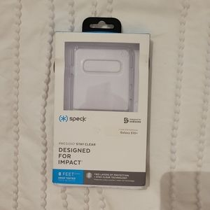 Speck Clear Phone Case- Galaxy S10+
